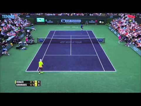 Monday Highlights: 2015 BNP Paribas Open - ATP Indian Wells