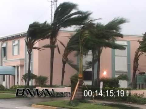 10/24/2005 Footage of Hurricane Wilma hitting Naples Florida during the early morning hours
