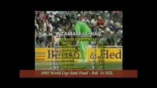 Best Innings by Inzmam-ul-haq including 1992 World Cup Semi Final