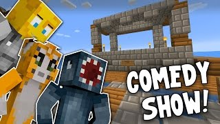 Minecraft - TIME TRAVELLERS! - THE COMEDY SHOW! #23 W/Stampy & Ash!