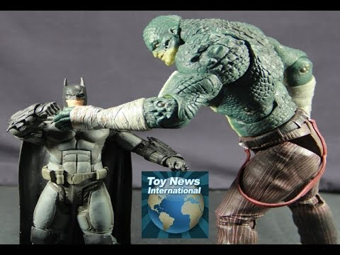 DC Collectibles Batman Arkham Origins Series 2 Killer Croc Figure Review