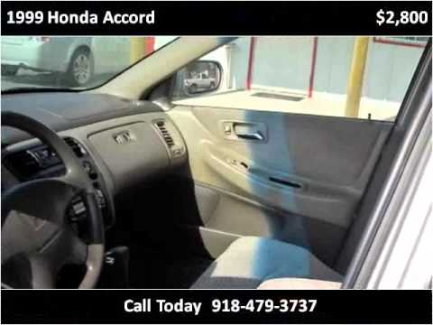 1999 Honda Accord Used Cars Locust Grove OK