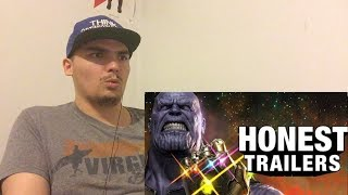 Honest Trailers - Avengers: Infinity War REACTION! (Reactions Vids Are Back)