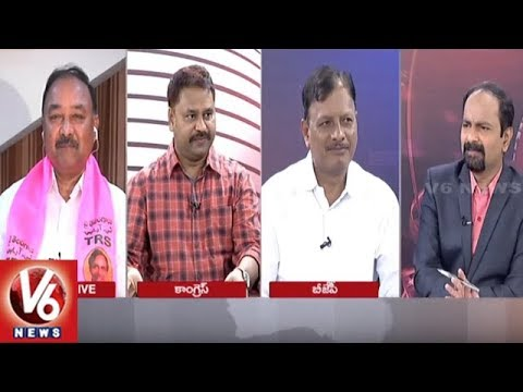Special Debate On Bharat Bandh & Petrol Prices | Good Morning Telangana | V6 News