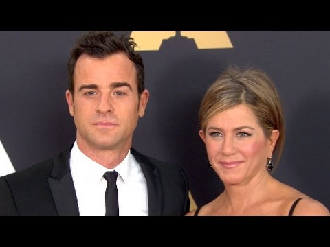 Jennifer Aniston, Justin Theroux, and others at The Academy's Governors Awards 2014
