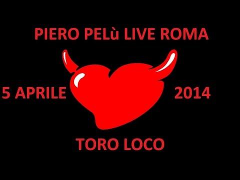 Piero Pelù Toro Loco Live Identikit Tour 5 Aprile 2014 Roma By Diablotex