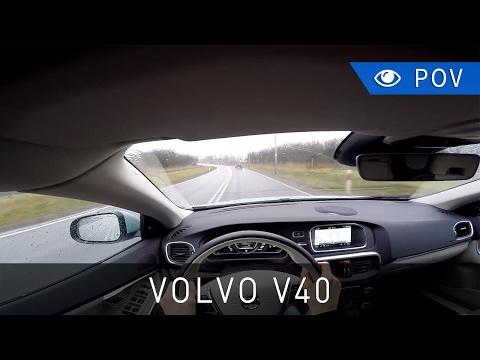 2017 Volvo V40 T4 190 KM Momentum – POV Drive | Project Automotive