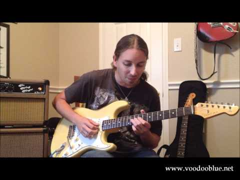 How to play Lenny by Stevie Ray Vaughan - with Tommy Katona of Voodoo Blue