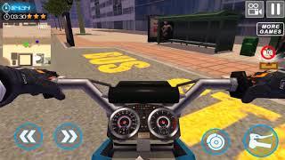 Furious City Moto Bike Racer 4 - Gameplay Android game - motorbike games