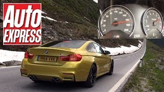 BMW M4 maxed out on 1,000-mile road trip