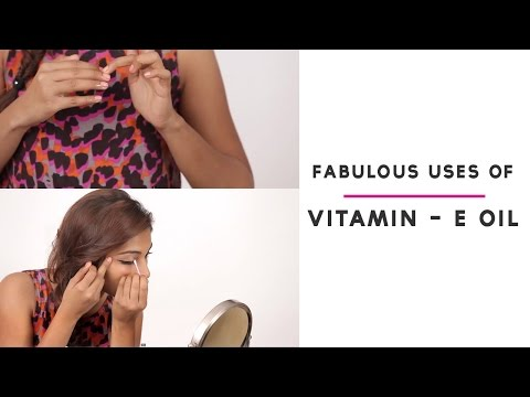 How To Use Vitamin E Capsules For Skin And Hair