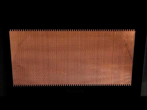 Microwave Oven Standing Wave Visualization
