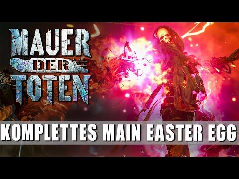 Main Easter Egg / Haupt Quest Mauer der Toten   Komplettes Tutorial - Alle Schritte Einfach