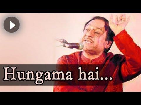 Ghulam Ali Ghazals : Hungama Hai Kyun - Ghulam Ali Songs -  Mehfil Mein Baar Baar video