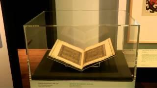 آثار هنری ایرانی از دوره اسلامی در نمایشگاهی در موزه تروپن آمستردام، هلند، پاییز ٢٠١٣ - ویدئو: پژمان