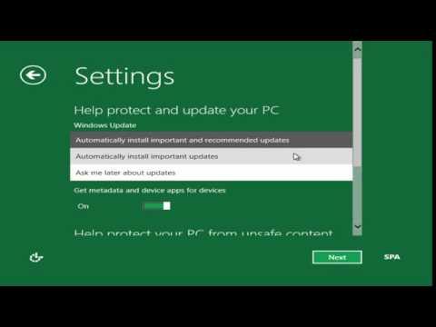 Instalación de Windows 8 (Preview Developer) en Español