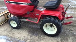 Cub cadet 782 with ag tires