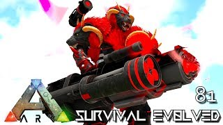 ARK: SURVIVAL EVOLVED - PSYCHO SUPREME WARCHIEF TAMING E81 !!! ( ARK EXTINCTION CORE MODDED )