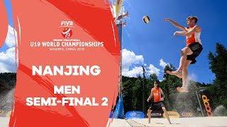Nanjing - 2018 Beach Volleyball U19 World Championships  – Men Semi Final 2