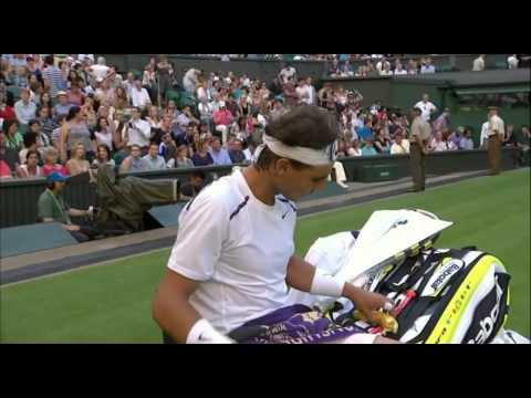 Rafael Nadal Unsportsmanlike - Lukas Rosol - Second Round Wimbledon 2012