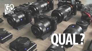 Qual camera sony comprar ? Qual é a melhor camera sony para videos ?  | REVIEW GoTriton