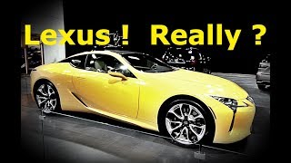 A BMW Owner's Thoughts On The New Lexus Cars