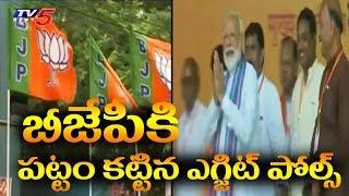 బీజేపీకి పట్టం కట్టిన ఎగ్జిట్ పోల్స్! | Exit Polls in Favour Of BJP