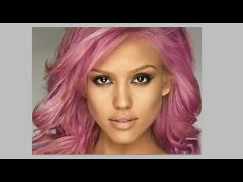 Photoshop CS5 - Changing Hair Colour - Tutorial