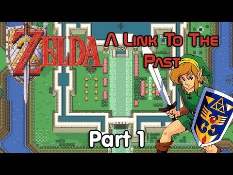 Let's Play The Legend of Zelda: A Link to the Past - #1. A Flight to Sanctuary!