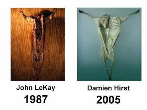 The Art Damien Hirst Stole