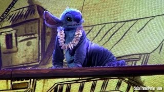 [HD] Stitch Finally Joins Mickey and the Magical Map - Disneyland