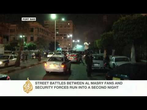 Egypt's Port Said assesses damage after football clashes