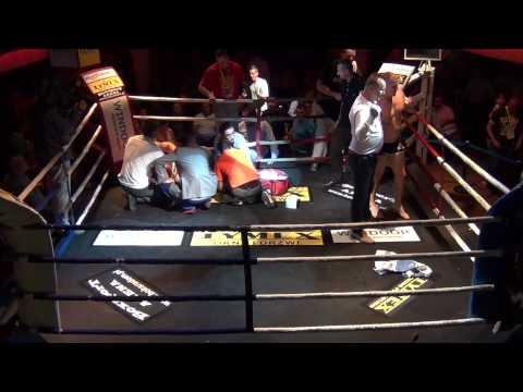 MMA - MATEUSZ GOLA ŁAMIE NOGĘ W RADOMIU