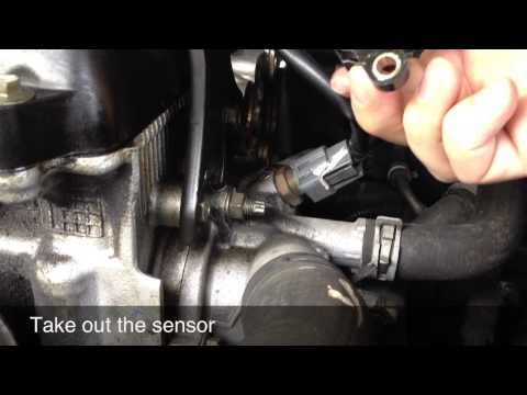 Camshaft Positioning Sensor Replacement - Nissan Altima - P0725 / P0335 / P0340