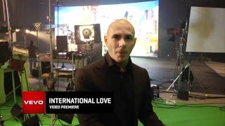 Pitbull - International Love Ft Chris Brown..Behind The Scene.