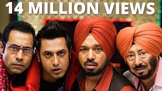 NEW PUNJABI COMEDY FILM 2017 || LATEST FULL MOVIES || Binnu Dhillon || Jaswinder Bhalla |