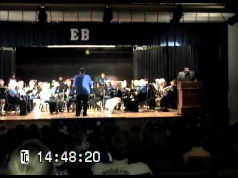 East Bank Middle School Band Christmas 2010