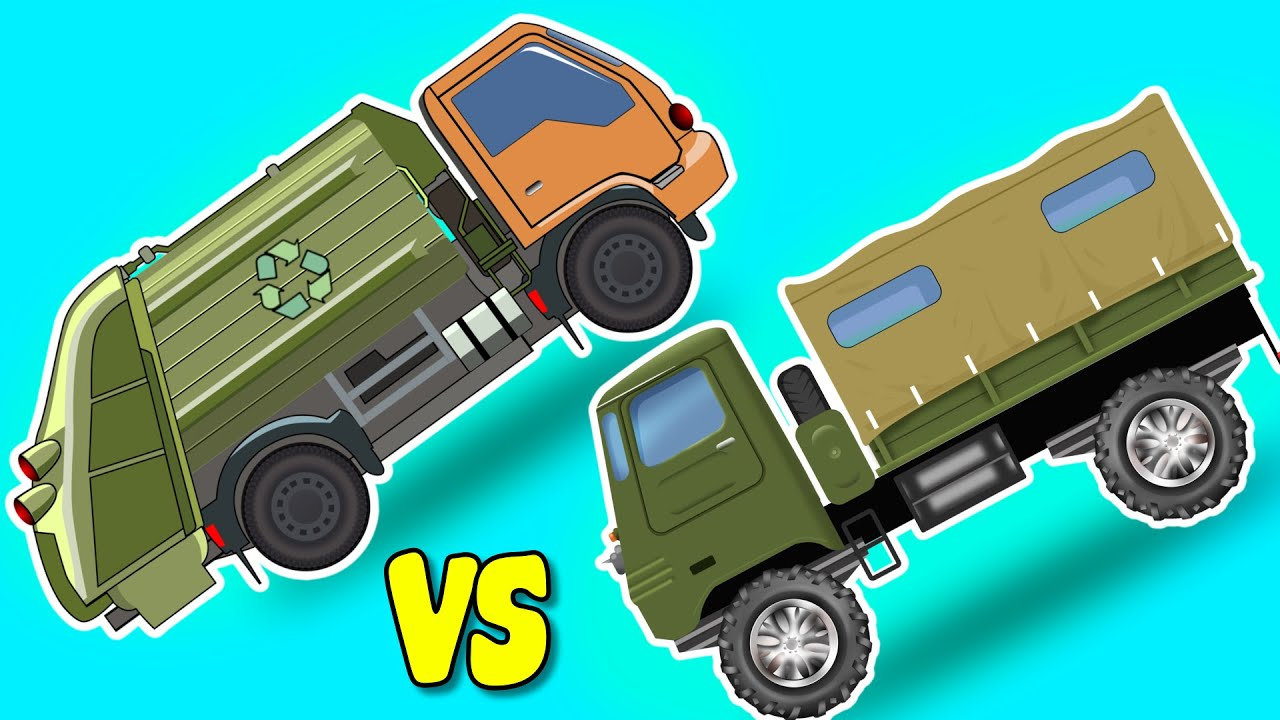 Garbage truck pictures for kids