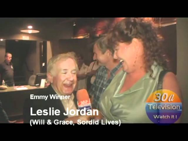 Redd-interviews-Emmy-Winner-Leslie-Jordan  Sordid-Lives-30a-TV-