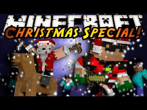Minecraft Sky Hunger Games : IT'S CHRISTMAS!
