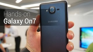 Hands-on: Galaxy On7 | Tudocelular.com