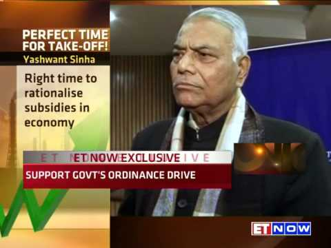 Exclusive | Yashwant Sinha To ET NOW: Perfect Environment For India To Take Off