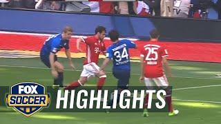 Juan Bernat strikes for Bayern Munich | 2016-17 Bundesliga Highlights