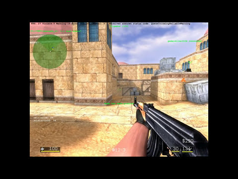CS Portable (Critical Strike Portable) Gameplay - Juego FPS Gratis Multiplayer Unity 3D (CS 1.6)