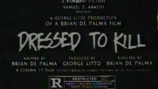 Dressed to Kill (1980) (TV Spot)