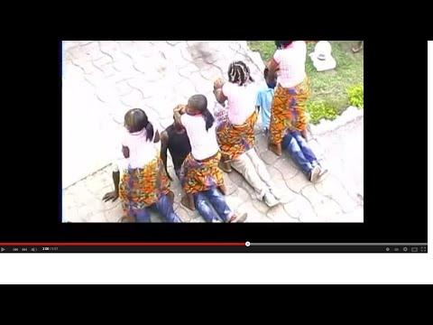 Mapouka à La Congolaise  Folklore Béémbé  Kibur' Kiri Dans La Sous Préfecture De Mouyondzi Au Congo video