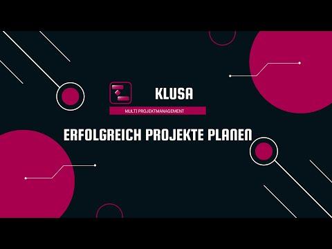 KLUSA Projektmanagement Software - neues Modul Unternehmen