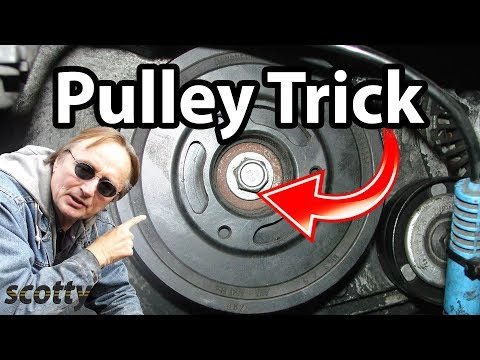 Crankshaft Pulley Removal Trick