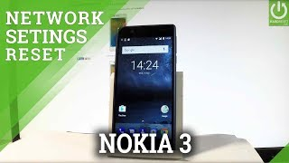 How to Restore Default Network Settings in NOKIA 3