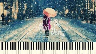 Cô bé mùa đông (Phạm Toàn Thắng) - Đăng Khôi ft. Thủy Tiên - Piano Tutorial